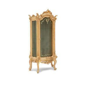 Сервант ART. 550 1-DOOR GLASS CABINET WITH ENGRAVED CRYSTALS