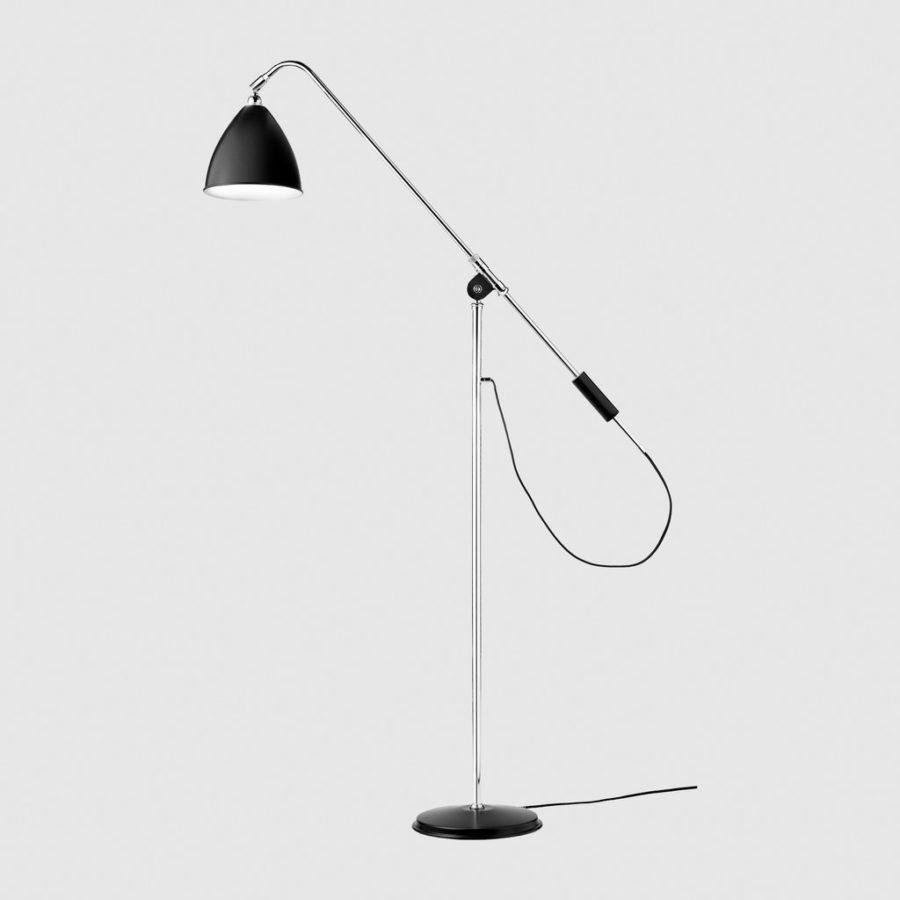 Функциональный торшер BL4 Floor Lamp - Dia.21 (M) - Chrome Base