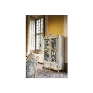 Сервант Alexandra ART. 9961 2-DOOR GLASS CABINET WITH ENGRAVED CRYSTALS