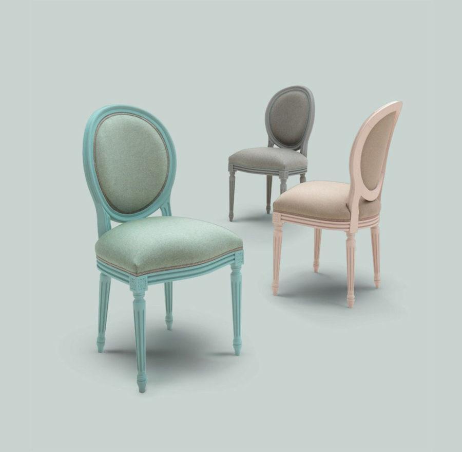 Обеденный стул Fiammetta Art. CR/608