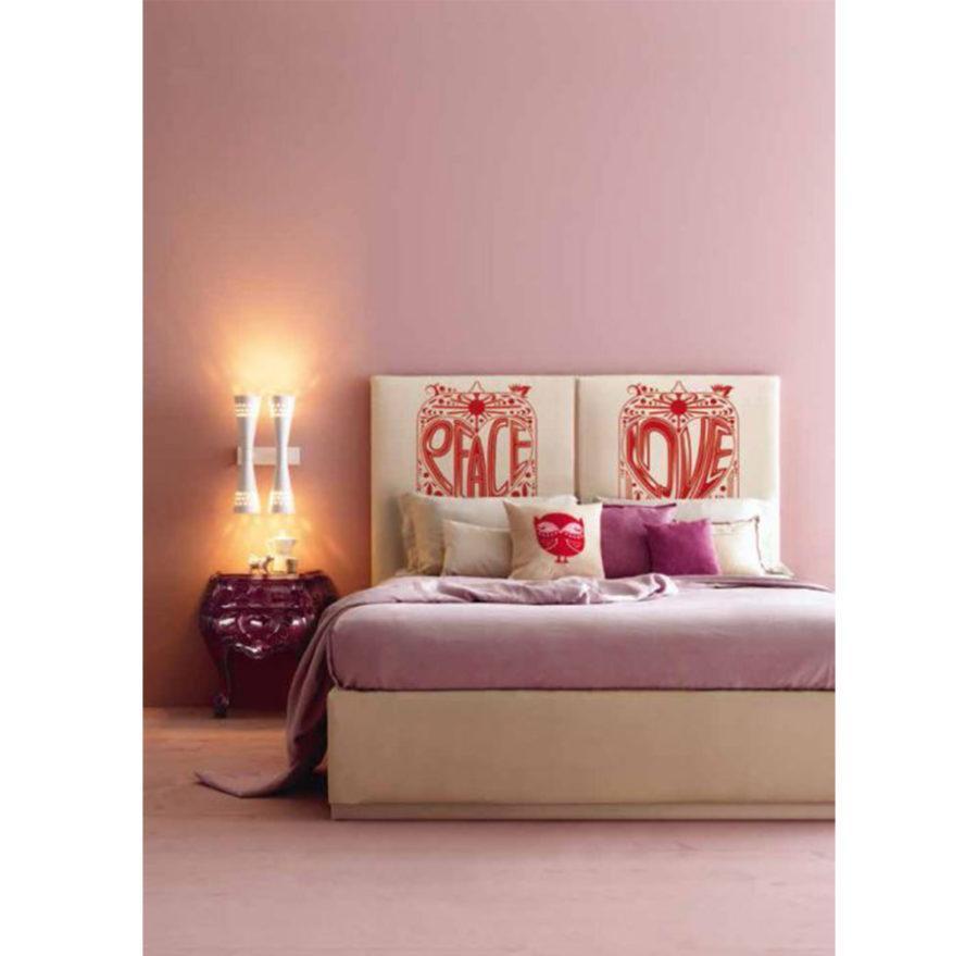 Двуспальная кровать Gildo Art. CR/3602-I