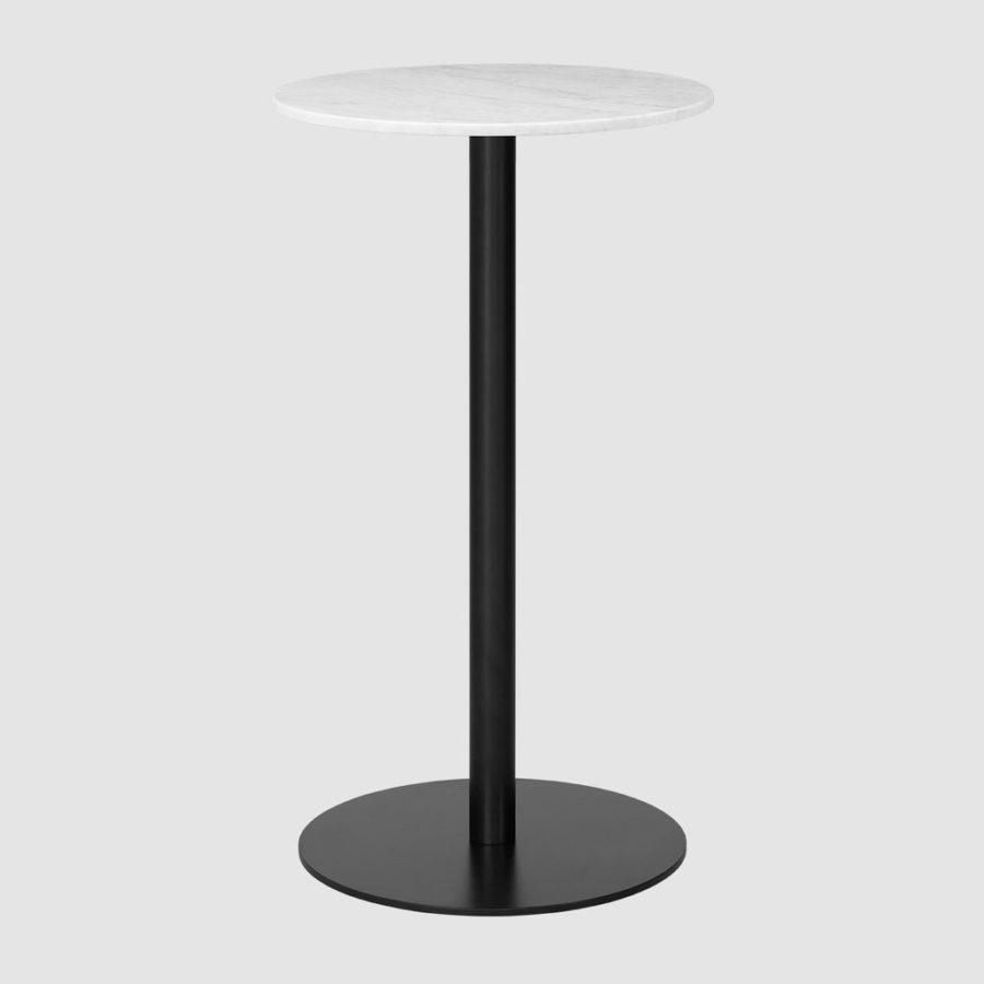 Барный столик GUBI 1.0 Bar Table - Round - Dia. 60 - Black base