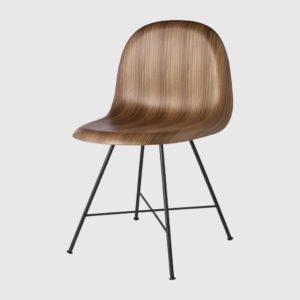 Обеденный стул 3D Dining Chair - Un-upholstered - Center base
