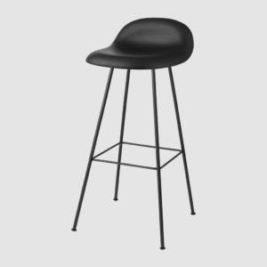 3D BAR STOOL - FULLY UPHOLSTERED, 75, CENTER BASE
