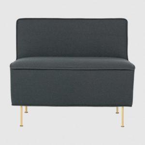 Кресло без подлокотников Modern Line Lounge Chair - (H 70 x W 80 x D 83 cm)