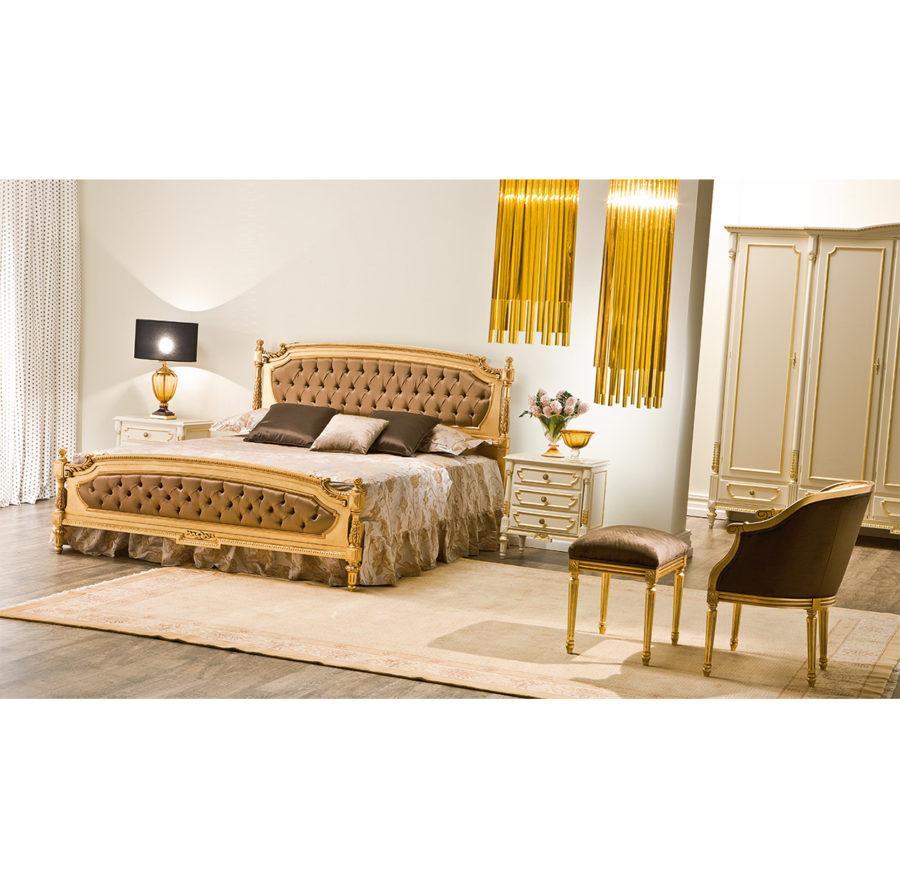 "Кровать Istari ART. 1712 DOUBLE BED WITH PADDED PANELS ""CAPITONNE'"""