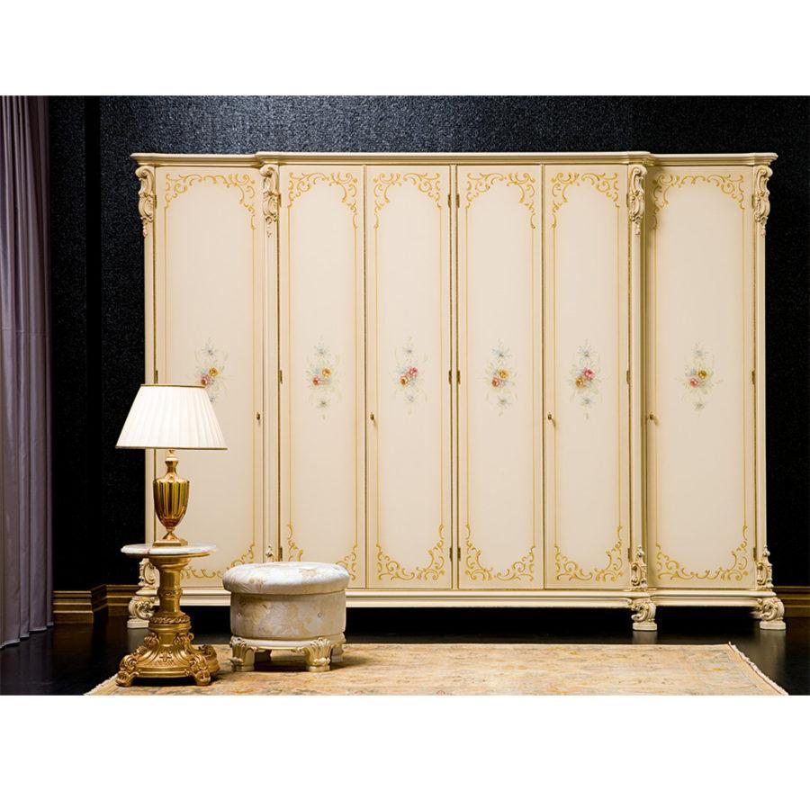 Платяной шкаф Olimpia ART. 790/D 6-DOORS DECORATED WARDROBE